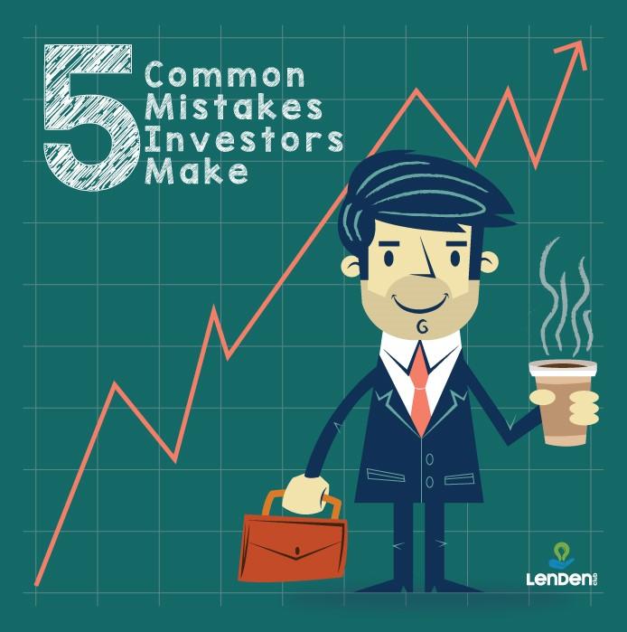 5 Common Mistakes Investors Make