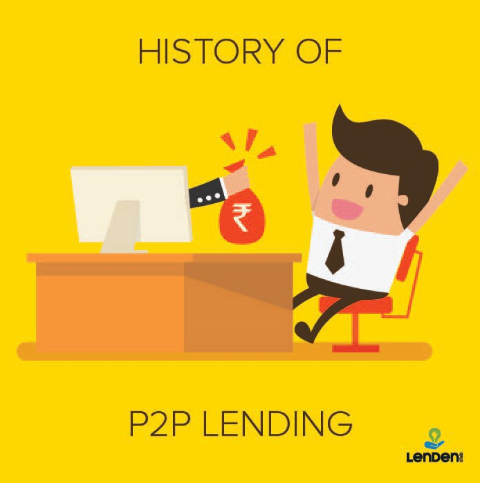 History of P2P Lending in India - LenDenClub